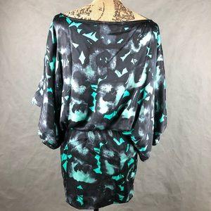 Express Dresses - 🖤 Express Silk Cinched Waist Party Dress 🖤